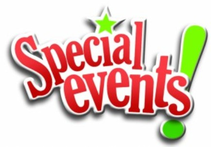 Special Events!